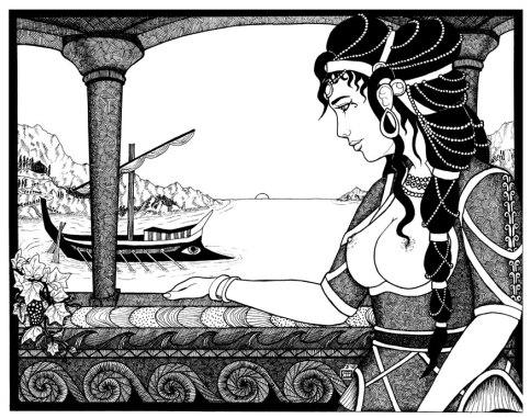 Ariadne_WIP_by_pythoness