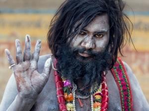 India- Varanasi - Aghori - Portrait