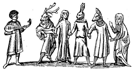 mummers-14th-19th-c