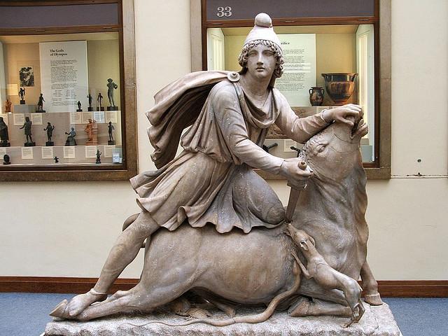 Tauroctony,_British_Museum
